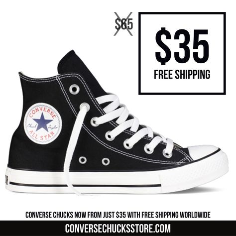 5d31e04a8aed Chucks from  35 with free worldwide shipping. Order now on our website.   chucks  chucktaylor  chucktaylors  converse  converse