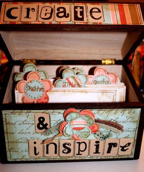 RECIPE BOXES -