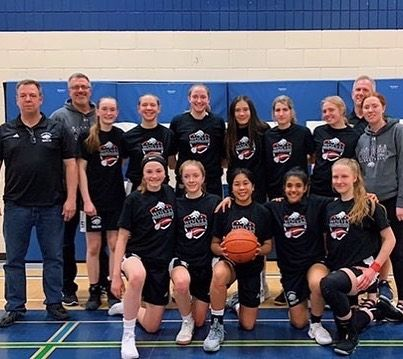Congratulations To Wwinnipegwolves 03 04 Girls On Their Championship Win At The 2019 Winnipeg Wolves Spring Challenge Spring Challenge Basketball Challenges