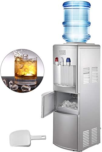 Buy Vbenlem Water Cooler Dispenser Ice Maker Hot Cold Top Loading 3 5 Gallon Bottle Home Office Use 2 In 1 Silver Online Chictrendyfashion In 2020 Water Coolers Ice Maker Queen Size Bed Frames