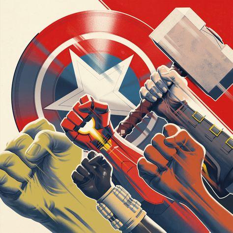 Marvel's Avengers - Original Video Game Soundtrack LP Vinyl Record