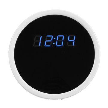 Hd 1080p Wireless Wifi Hidden Camera Alarm Clock Camera Motion Cam Dvr Night Vision Hidden Camera Alarm Security System