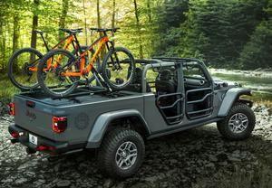 Jeep Mopar Frame Mount Bike Carrier 2020 Gladiator 2018 2020 Wrangler Jeep Gladiator Jeep Mopar