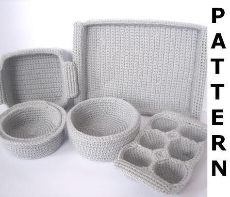 Baking Dishes Crochet Pattern