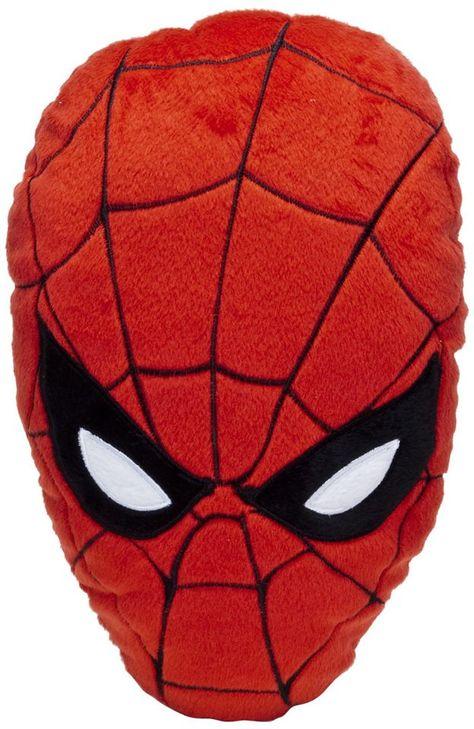 Cooles Kuschelkissen In Form Des Kopfes Von Spiderman Tolle
