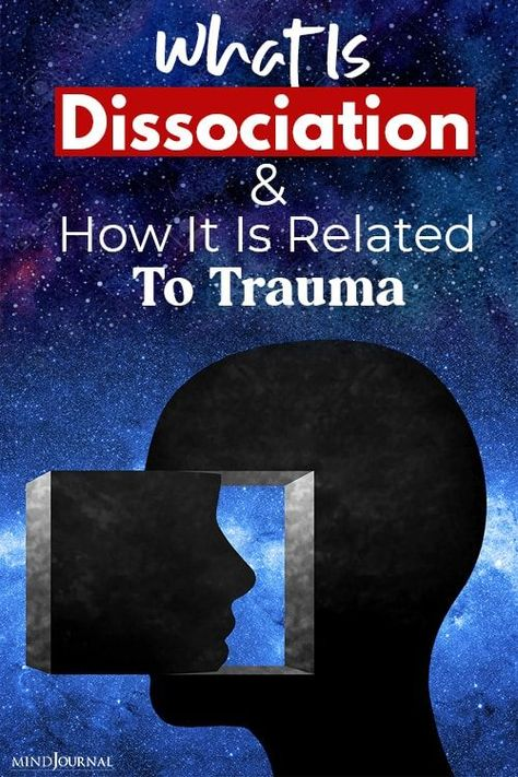 Dissociation can occur when someone is engaged in an absorbing or automatic activity and temporarily stops paying attention to their immediate environment. #trauma #dissociation