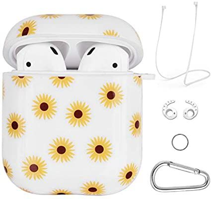 Amazon Com Airpods Case Vigoss 4 In 1 Airpod Case Cover Glossy Airpods Accessories Shockproof Protecti Airpod Case Apple Phone Case Apple Iphone Accessories
