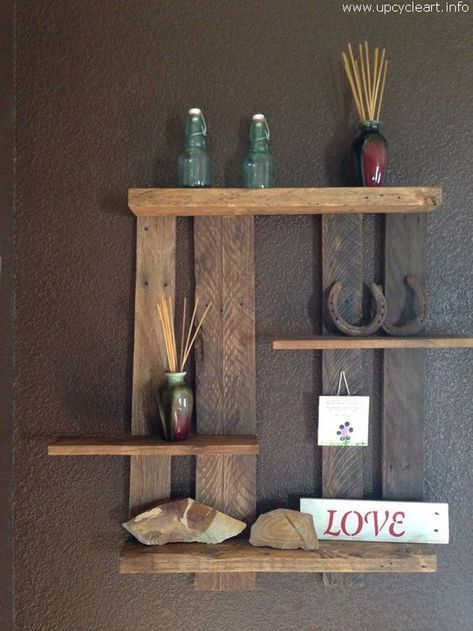 30 Exclusive Wall Shelf Ideas In 2020 Shelves For Every Room Diy Pallet Projects Wooden Pallet Shelves Pallet Projects Wall