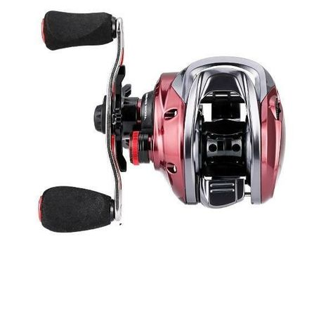Specifications: Position: LAKE Position: River Position: Reservoir Pond Position: stream Model Number: Baitcasting Reel RED FOX Fishing Method: Bait Casting Fishing Reels Type: Baitcast Reel Baits Type: Fake Bait Model: RED FOX/BFS-HG/XG-L/R Gear Ratio: 7.2:1 / 8.1:1 Ball Bearings: 10+1BB Max Drag: 6KG / 13lbs Reel Weight: 192g / 6.77oz Reel Weight (for BFS): 162g / 5.71oz Braid Capacity: 0.33mm-100M 0.38mm-90M Braid Capacity (for BFS): 0.148mm-125M 0.165mm-100M Spool: Aluminum Spool with Short