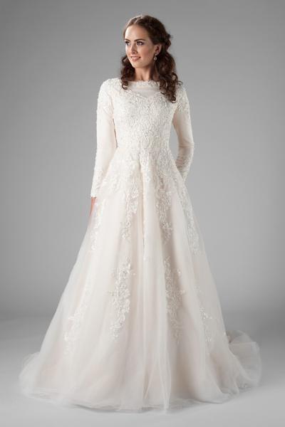 Wilder Wedding Dress Long Sleeve Ball Gowns Wedding