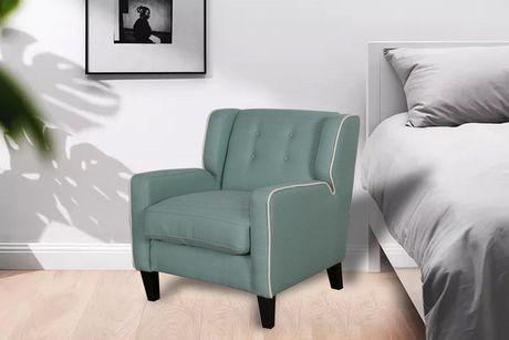 Home Furnishings Teal Accent Chair