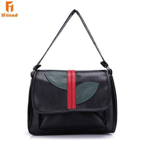 Ifriemd Fashion Soft PU Leather Shoulder Bag High Quality Female Designer  Messenger Crossbody Bag Women Handbag sac femme 4e8bc307032