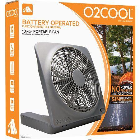O2cool 10 Inch Battery Or Electric Portable Fan Image 4 Of 4 Portable Fan Camping Fan Personal Fan