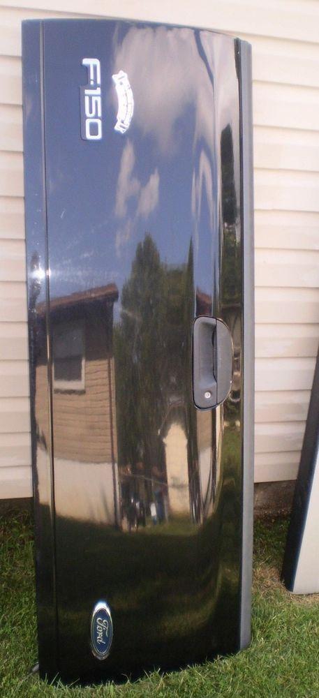 Black 99 07 Ford Super Duty Truck F250 F350 97 03 F150 Tailgate Tail Gate Oem 9703fordtrucktailgatefo Super Duty Trucks Ford Super Duty Trucks Ford Super Duty