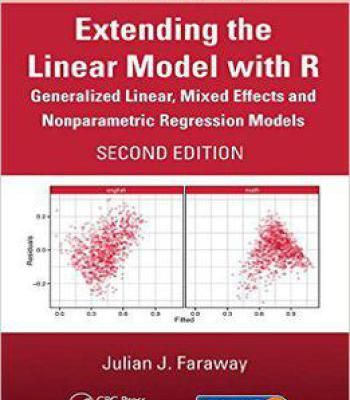 Extending The Linear Model With R Pdf Regression Linear Math