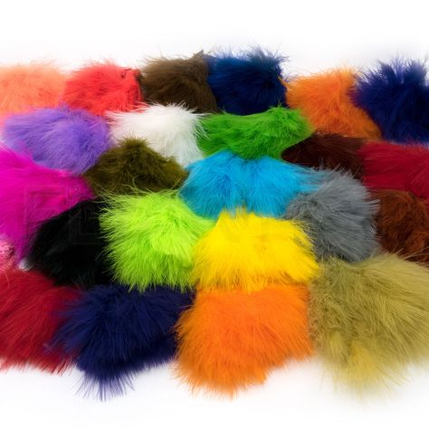 FISH SKULL FAUX BUCKTAIL Synthetic Deer Tail Hair for Lure Jig /& Fly Tying