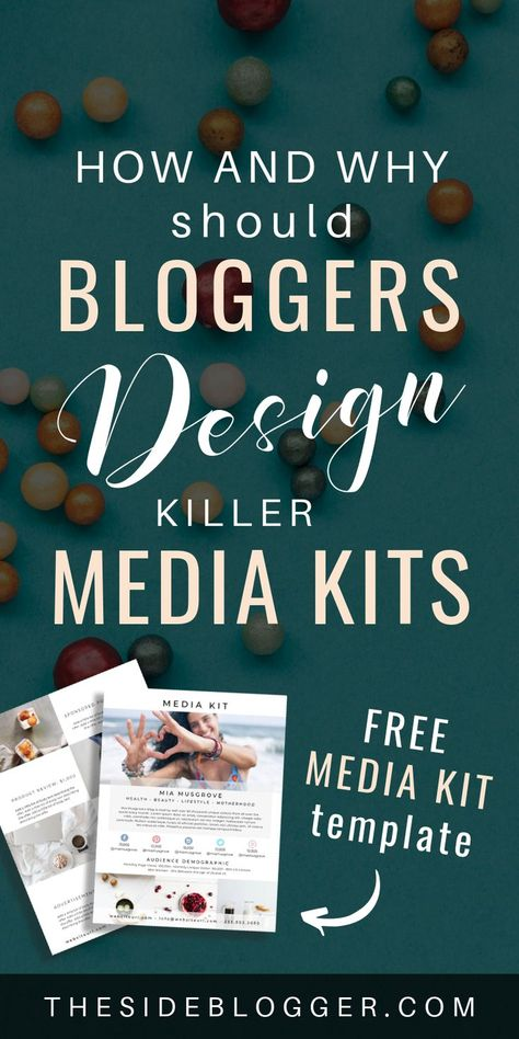 The Ultimate Guide to Creating a Media Kit for Your Blog