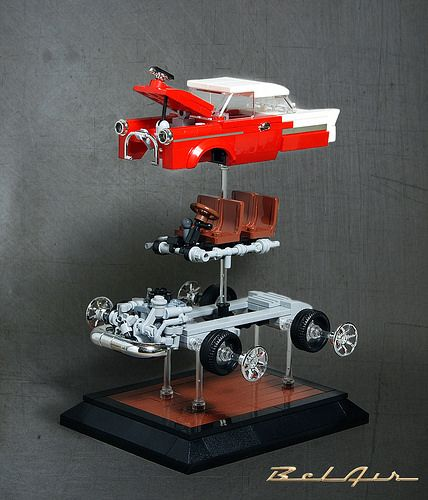 Lego Chevrolet Bel Air Lego Chevrolet Chevrolet Bel Air Lego Cars