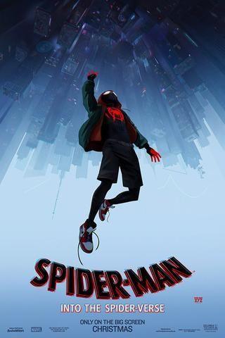 Spider Man Into The Spider Verse Poster Spider Verse Spiderman Free Movies Online