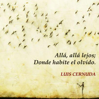 Luis Cernuda Cernuda Poemas Y Frases