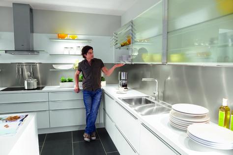 18 best èggo cocinas images on Pinterest Kitchens, Printing - korbauszüge für küchenschränke