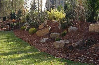 Hill Landscape Landscapingwithrocks Backyard Landscaping