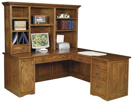 Up To 33 Off Mission Corner Computer Desk Amish Furniture Desk Corner Computer Desk Computer Desk