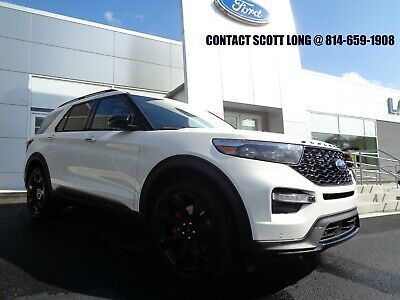 2020 Ford Explorer St Edition Brand New White New 2020 Ford