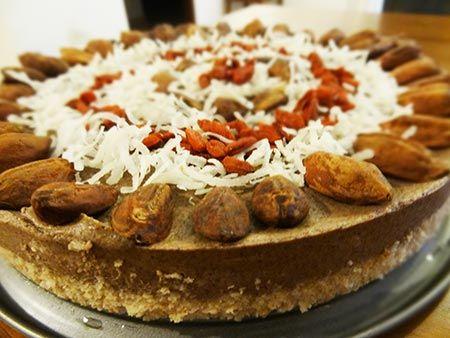 Pili nut cake recipe