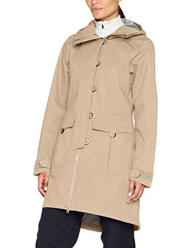 Marc O'Polo Damen Jacke 607011971193 Grün (mountaine Lane