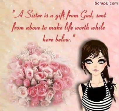 Pin By Gift Ideas Fors On Gift For Sister Dear Sister Sister Status Sister Gifts
