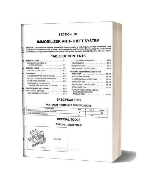 Daewoo Nubira J100 Factory Service Manual In 2020 Daewoo Manual Forklift