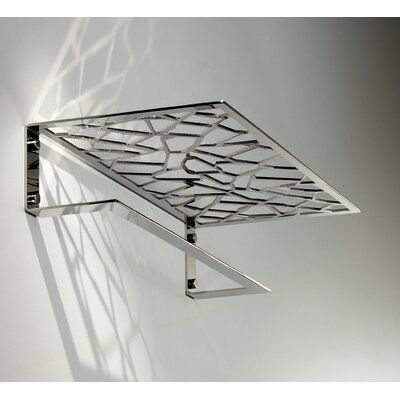 Orren Ellis Shockey Wall Shelf Wayfair In 2020 Metal Furniture Wall Shelves Metal Shelves