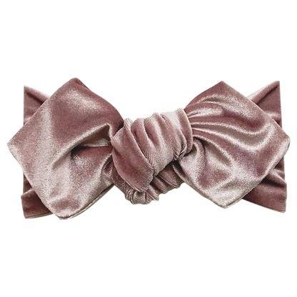 Top Knot Headband Lilac Velvet Spearmint Ventures Llc Top Knot Headbands Knot Headband Top Knot