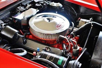 1969 Chevrolet Corvette Convertible, 350 Engine w/ Manual