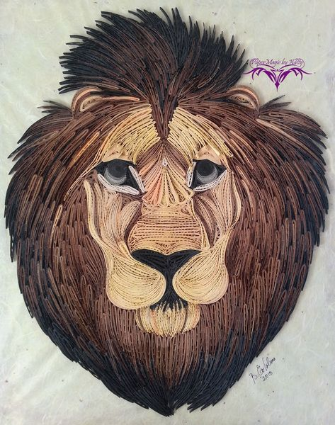 PaperMagic by Katty: Lion Zion