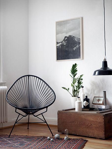 Acapulco Chair - ein bisschen Vintage Flair im Wohnzimmer