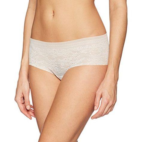 S 36-38 Damenunterwäsche NUR DIE String Baumwolle weiß Slip Doppelpackung Gr