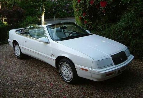 My 1990 Chrysler Lebaron Chrysler Suv Car