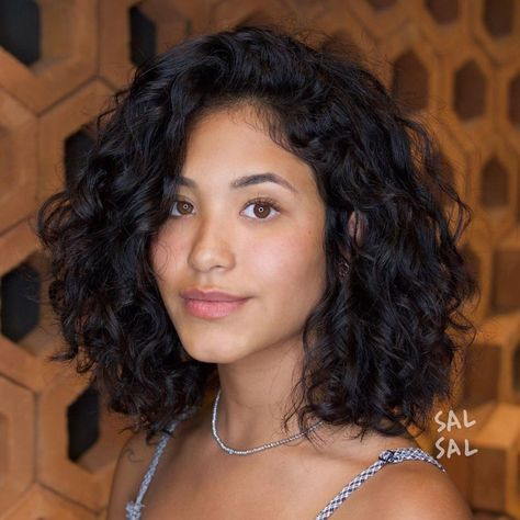 Short Curly Hairstyles For Women, Curly Hair Styles, Curly Bob Hairstyles, Short Hair Cuts, Medium Hair Styles, Cool Hairstyles, Natural Hair Styles, Hairstyles 2018, Black Hairstyles