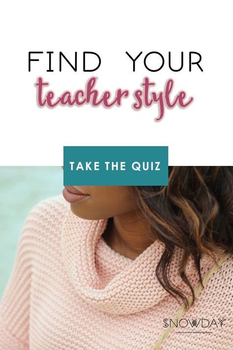 Figure out what to wear while teaching