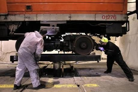 Old Orange Line Cars Gear Up For Their Final Rides The Boston