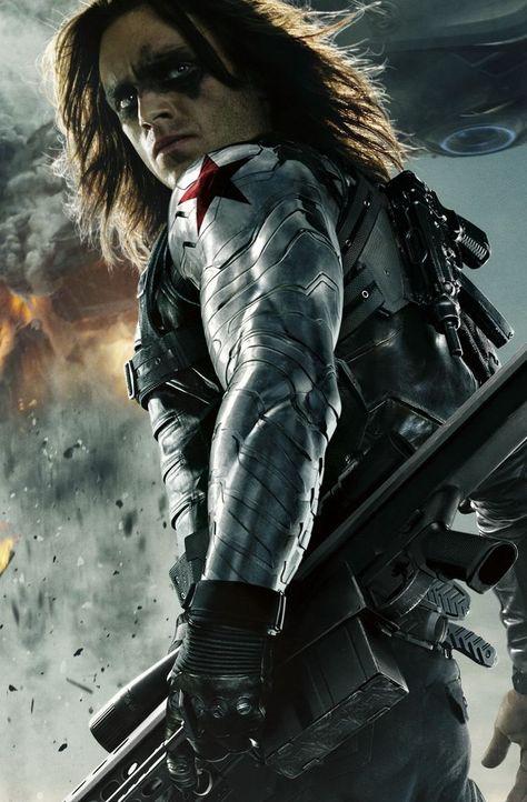 Most Powerful MCU Superheroes Bucky Barnes The Winter Soldier Sebastian Stan