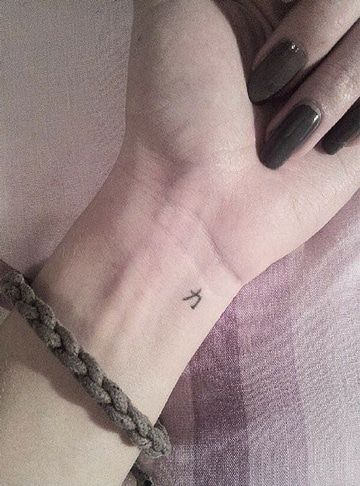 Tatuajes En La Muneca Simbolos