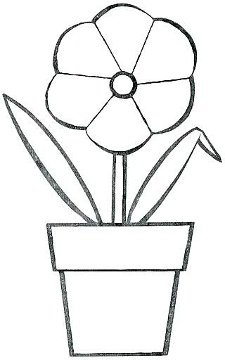 Pagina Para Colorear De Maceta Para Sin Para Para S Dibujos Para Colorear De Macetas Con Flores Flores En Maceta Dibujos Para Colorear Macetas