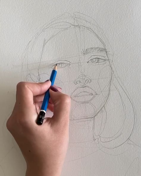 """39.9k Likes, 109 Comments - Polina Bright (@polina.bright) on Instagram: """"My sketching process 