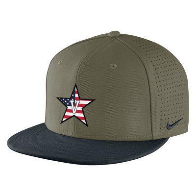 Nike Fitted Flat Bill Baseball Cap Nike Fit Tailgate Accessories Baseball
