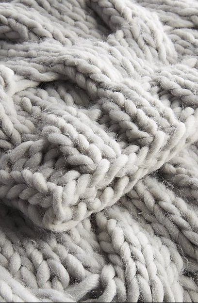 Chunky Light Grey Cable Knit Throw Reviews Cb2 In 2020 Cable Knit Throw Knitted Throws Modern Throw Blanket