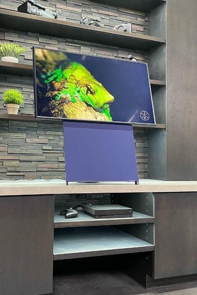 Samsung Innovative Technology The Sero Qled 4k Uhd Smart Hdtv In 2020 Samsung Galaxy Wallpaper Samsung Tvs Samsung