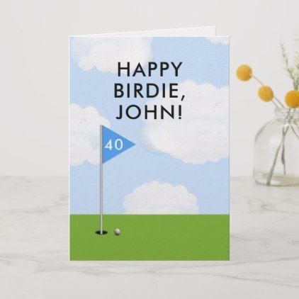 Funny Golf Birthday Card Zazzle Com Golf Birthday Cards Funny Birthday Cards Birthday Cards